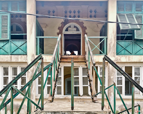 Staircase to the Post Office in Grand Bassam