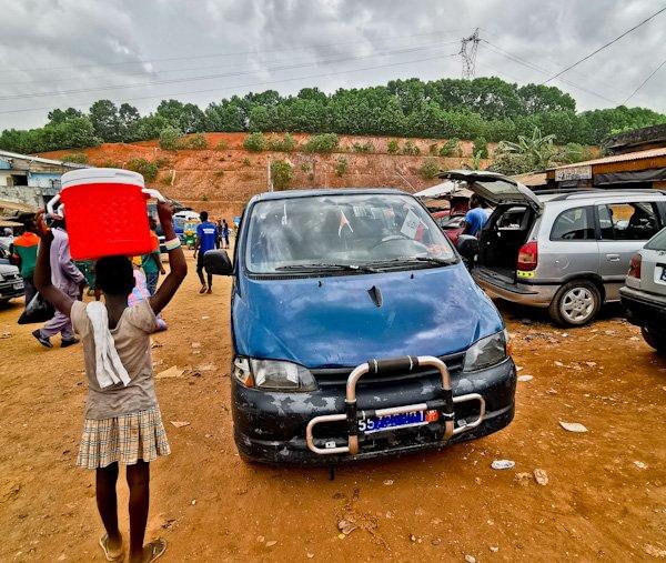 Aboisso to the Ghana / Ivory Coast Border