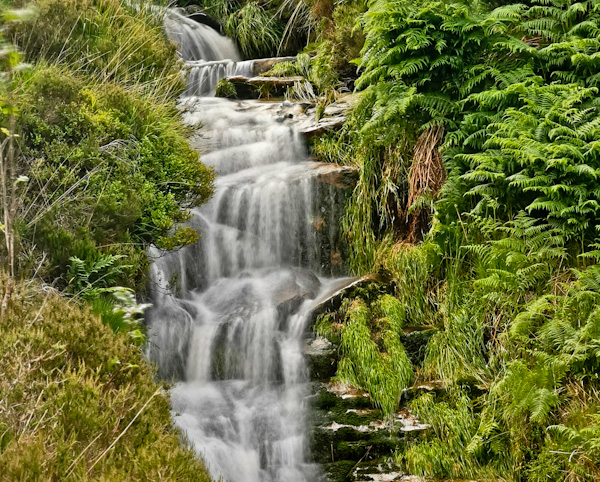 Peak District National Park - Waterfall
