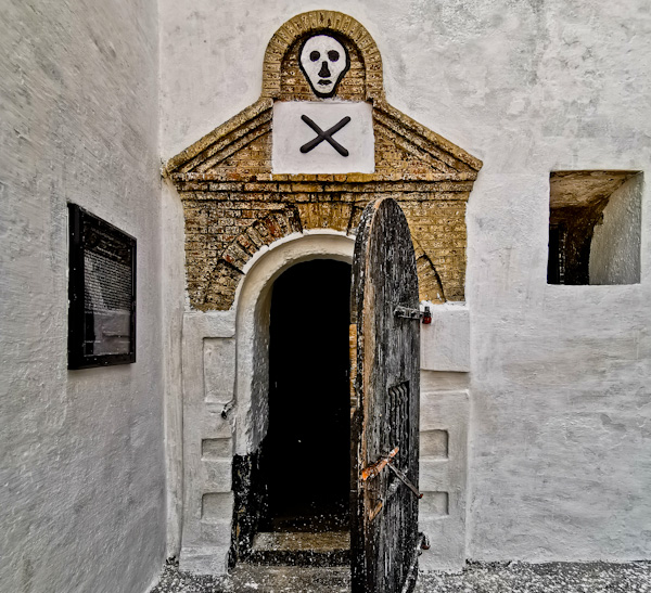 Slave Prison Cell at Elmina Castle