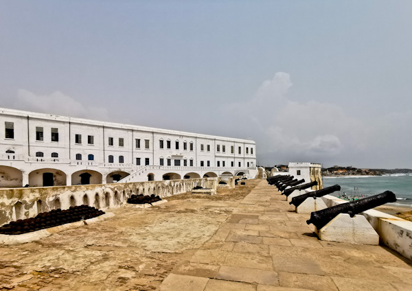 Fort at Cape Coast Castle