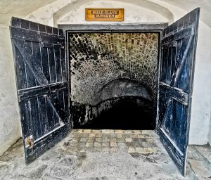 Male Dungeon at Slave Castle Ghana