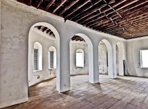 European Living Quarters at Cape Coast Castle