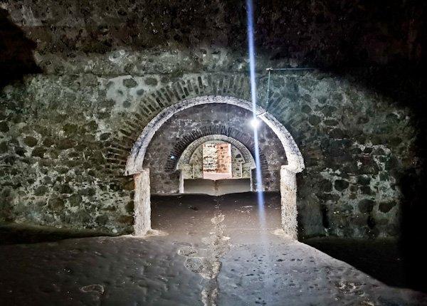 Male Slave Dungeon Interior - Ghana Slave Castle