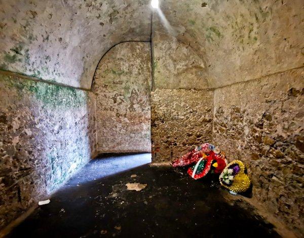 Slave Prison Cell Interior