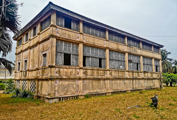 Abandoned Colonial Buildings in Grand Bassam Ivory Coast
