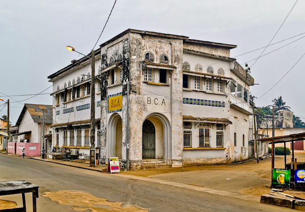 Banque Centrale Africaine - Grand Bassam, Ivory Coast
