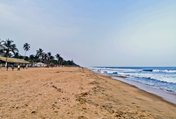 Bassam Beach, Ivory Coast