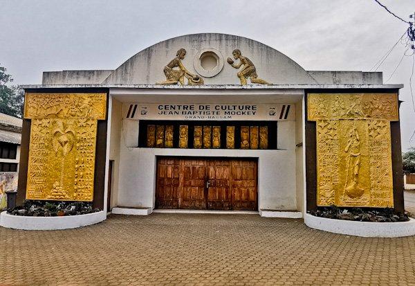 cultural center - grand bassam