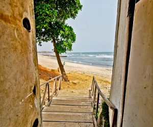Door of no return - Osu Castle - Accra Ghana