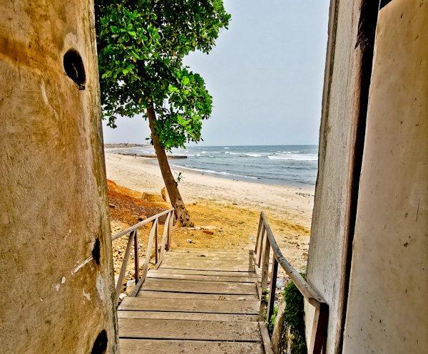 Door of no return - Osu Castle - Accra Ghana
