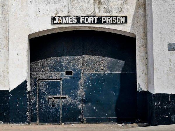 James Fort Prison Accra