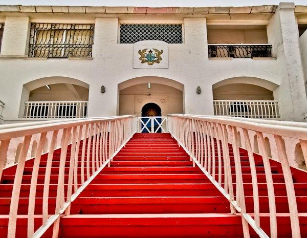 Grand Staircase, Osu Castle