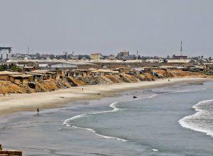 Beaches of Accra Ghana