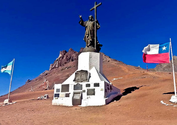 Christ the Redeemer of the Andes - Argentina / Chile Border
