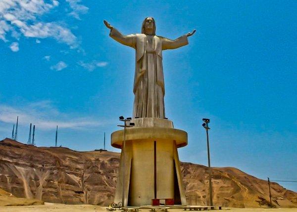 Cristo de Pacifico - Lima, Peru