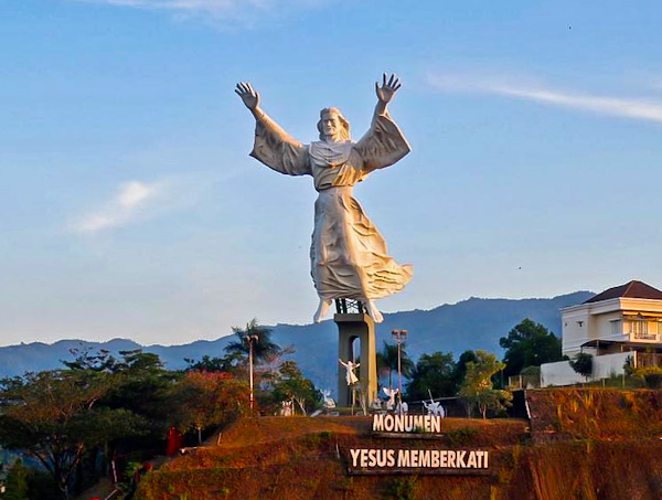 Christ Blessing - Manado, Indonesia