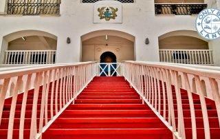 Visit Osu Castle in Accra Ghana - Slave Castles
