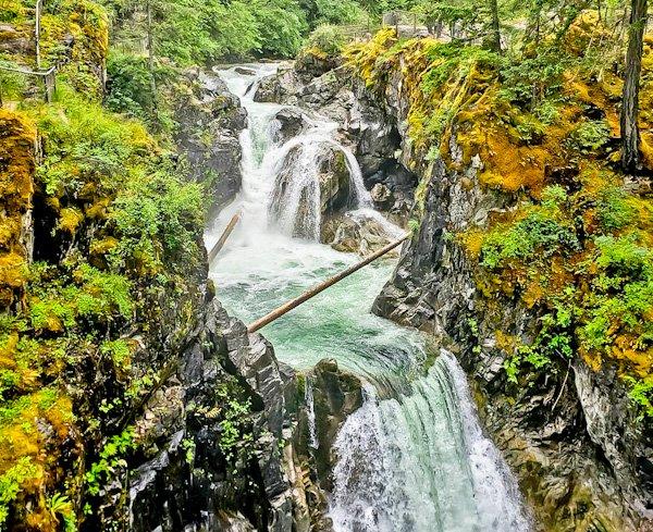 Qualicum Falls, Vancouver Island