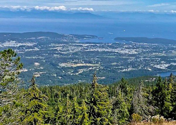 Mount Benson, Vancouver Island