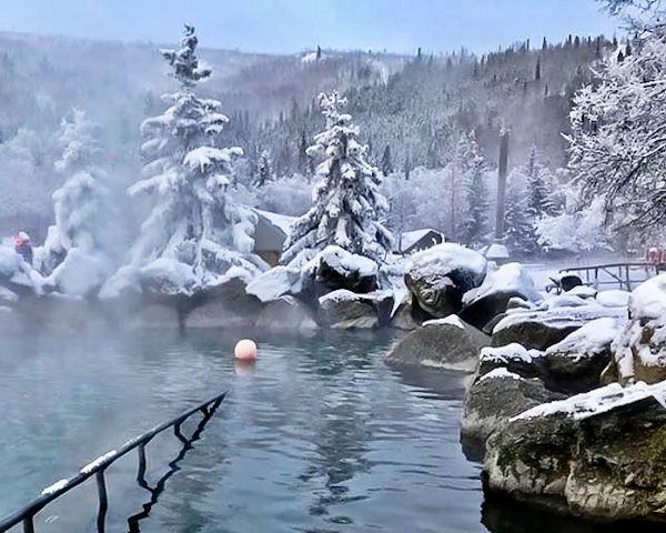 Chena Hot Springs and Ice Museum