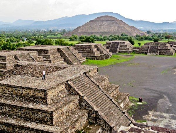 Pyramid of the Sun, Mexico