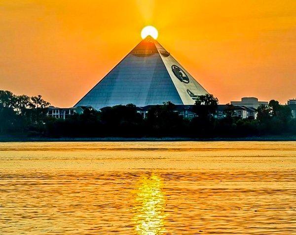 Memphis Pyramid, Tennessee