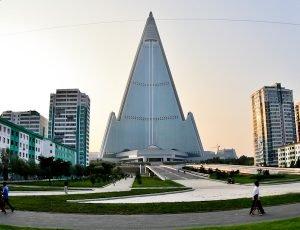 Ryugyong Hotel, North Korea