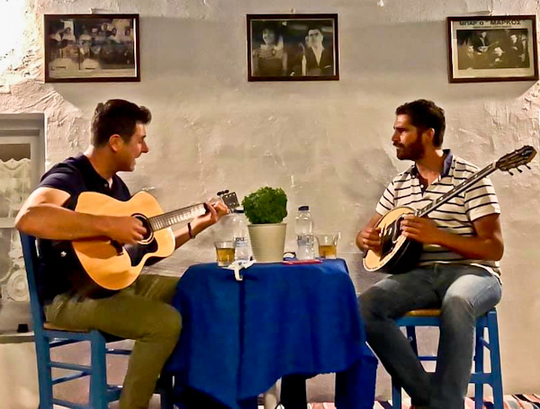Live Music in Skopelos Island - Ammos