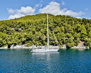 Boat Trip on Skopelos Island Greece