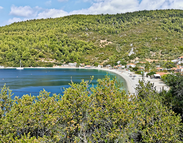 Panormos Beach, Skopelos Island
