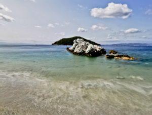 Milia Beach - Love Heart Shaped Beach, Skopelos Island