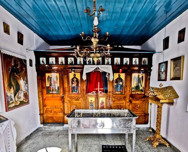 Mamma Mia Chapel Interior