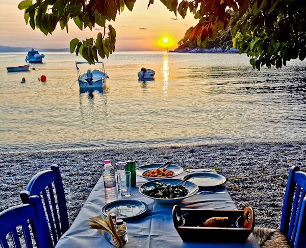 Mouria Fish Tavern Agnondas