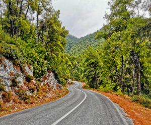 Hire a car to explore Skopelos Island - road trip