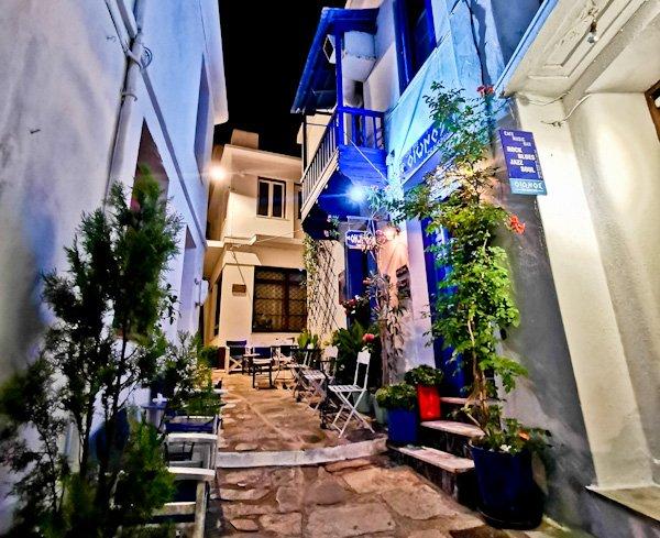 Skopelos Town, Skopelos Island Greece