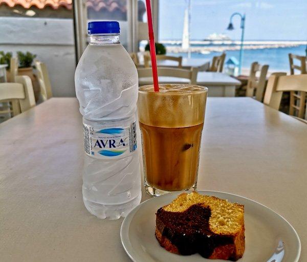 Coffee in Skopelos Island - Ammos Restaurant
