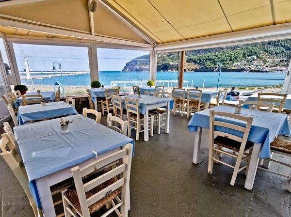 Ammos Restaurant - Skopelos Island