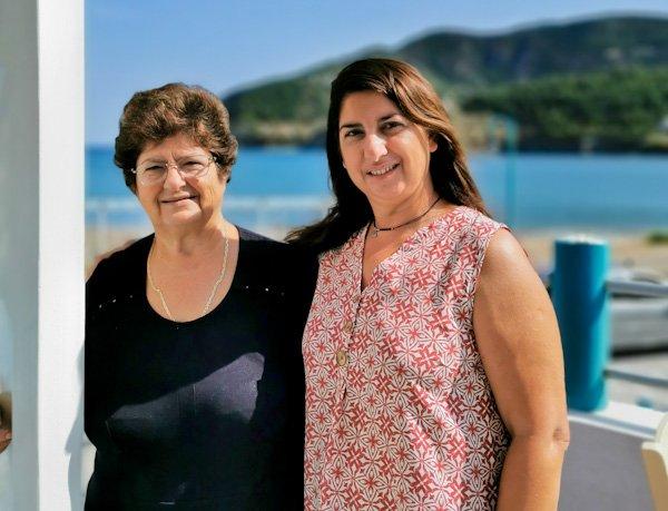 Ammos Family Run Greek Restaurant on Skopelos Island Greece