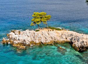 Amarantos Cape, Skopelos Island
