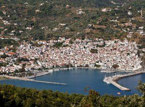 Skopelos Port, Skopelos Island Greece