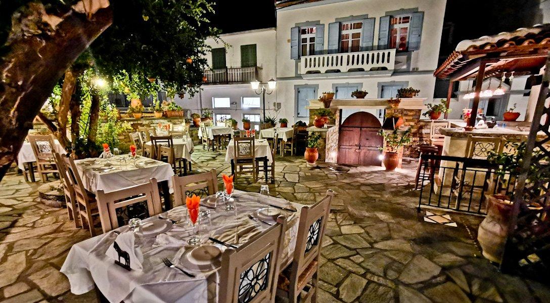 To Rodi Restaurant - Fine Dining in Skopelos Town