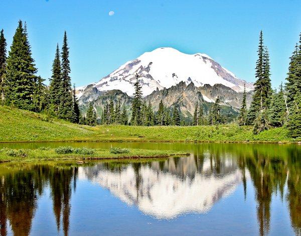Mount Rainier National Park Road Trip