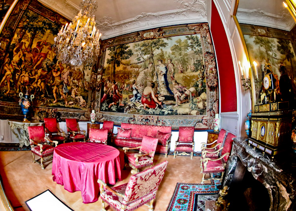 Tapestry Room - Chateau de Fountainebleau