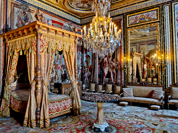 The Pope's Apartment - Chateau de Fountainebleau