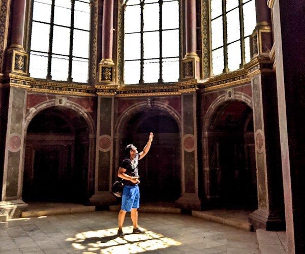 Instagram Spots at Chateau de Fountainebleau