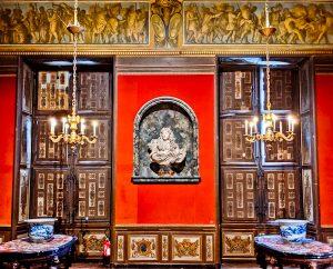 Intricate Details of Vaux Le Vicomte