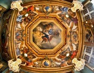 Charles Le Brun Artwork in Vaux Le Vicomte