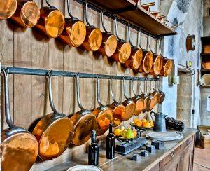 Kitchens at Vaux Le Vicomte