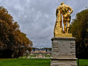 Gold Statue of Hercules